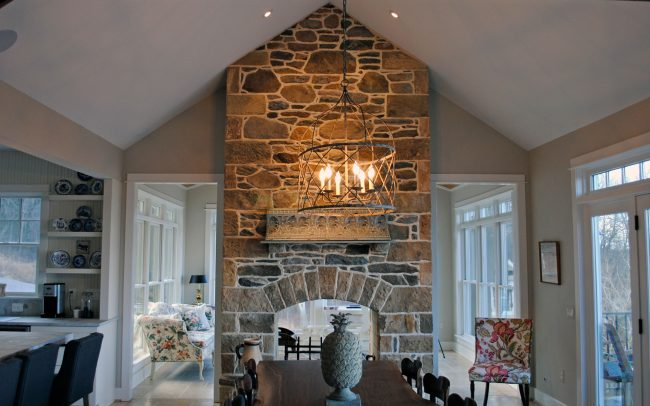 bluemont custom home