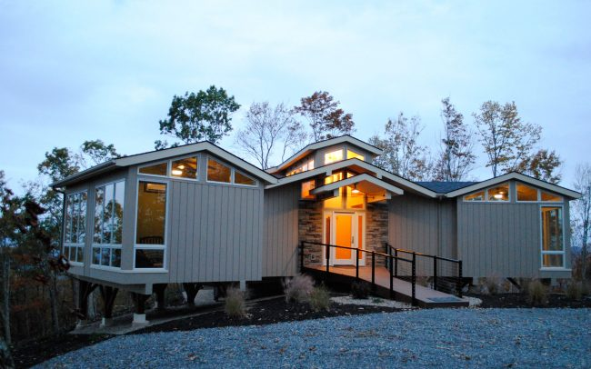 west virginia custom home